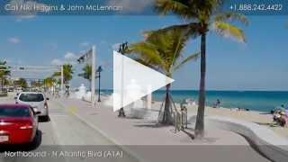 Driving Tour of Fort Lauderdale Beach, Florida