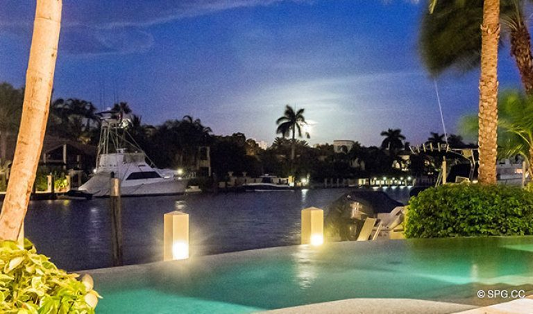 Spend Evenings on the Intracoastal in a Waterfront Homes in Harbor Beach, Fort Lauderdale, Florida 33316