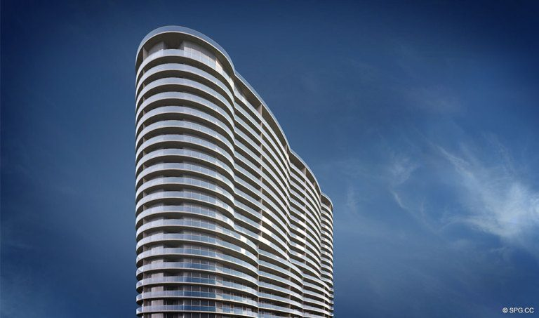 Aria on the Bay, Luxury Waterfront Condominiums Located at 1770 North Bayshore Drive, Miami, FL 33132