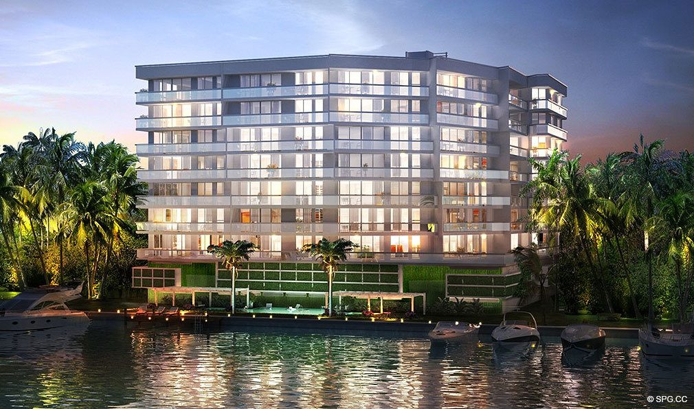 O Residences, Luxury Waterfront Condominiums Located at 9821 E Bay Harbor Dr, Miami Beach, FL 33154