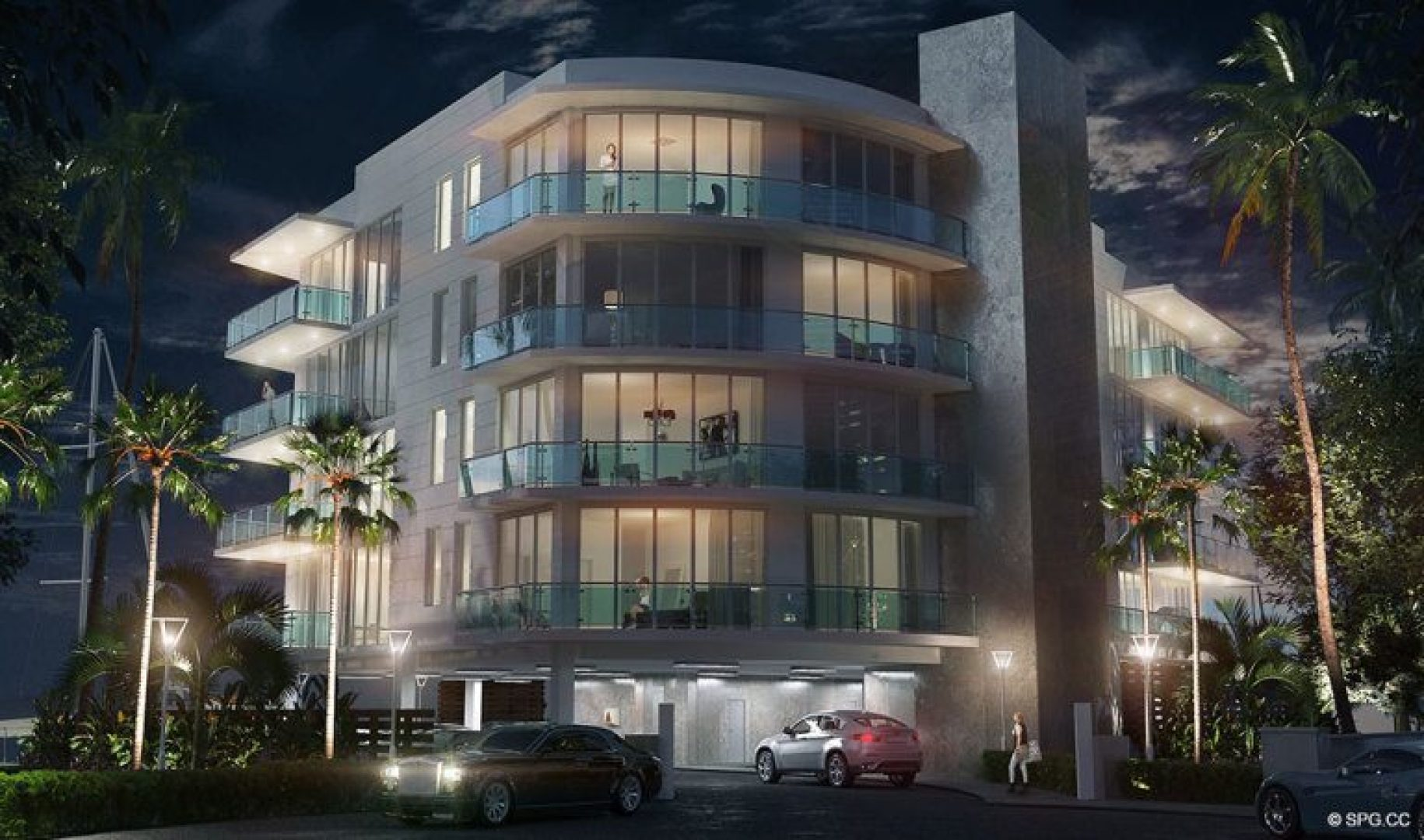 Evenings at 33 Intracoastal, Luxury Waterfront Condominiums in Fort Lauderdale, Florida 33306