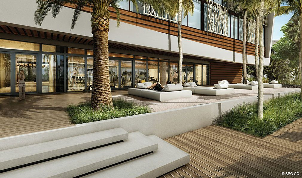 Exceptional Outdoor Spaces at AquaBlu, Luxury Waterfront Condos in Fort Lauderdale, Florida 33304