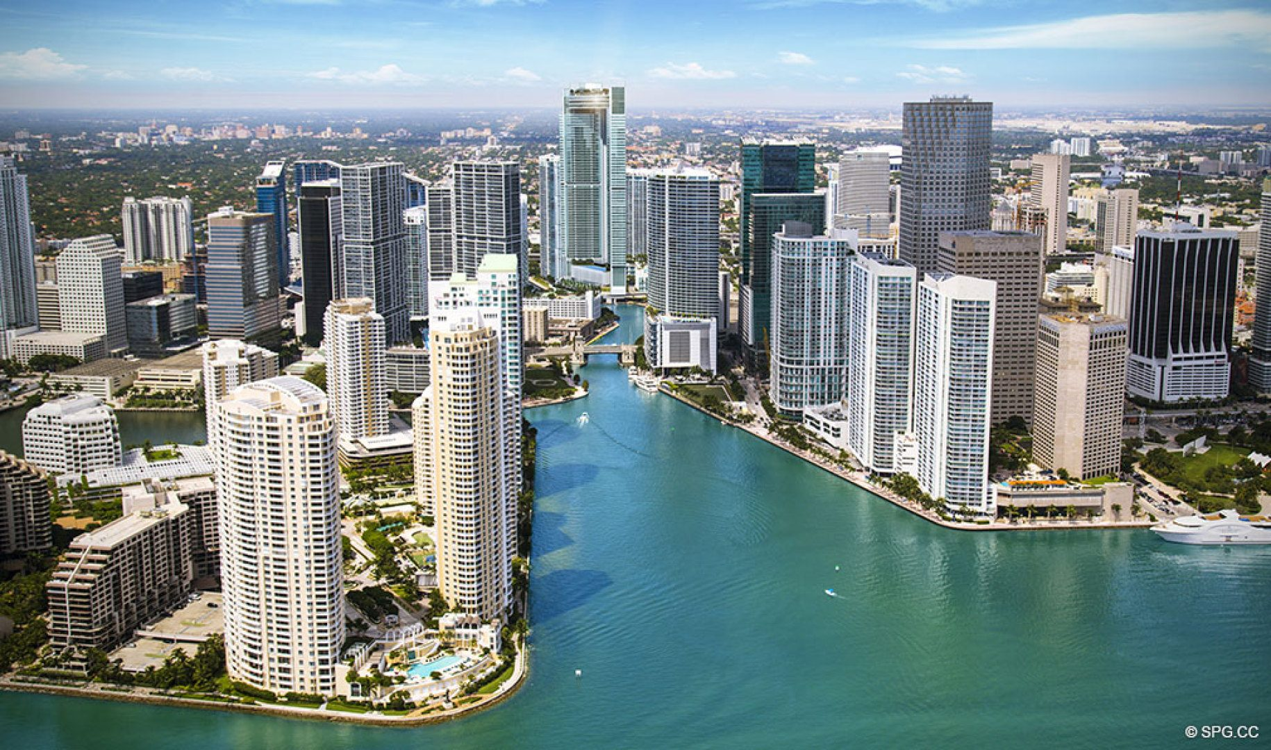 The Jewel of the Miami River, One River Point, Luxury Waterfront Condos in Miami, Florida 33130