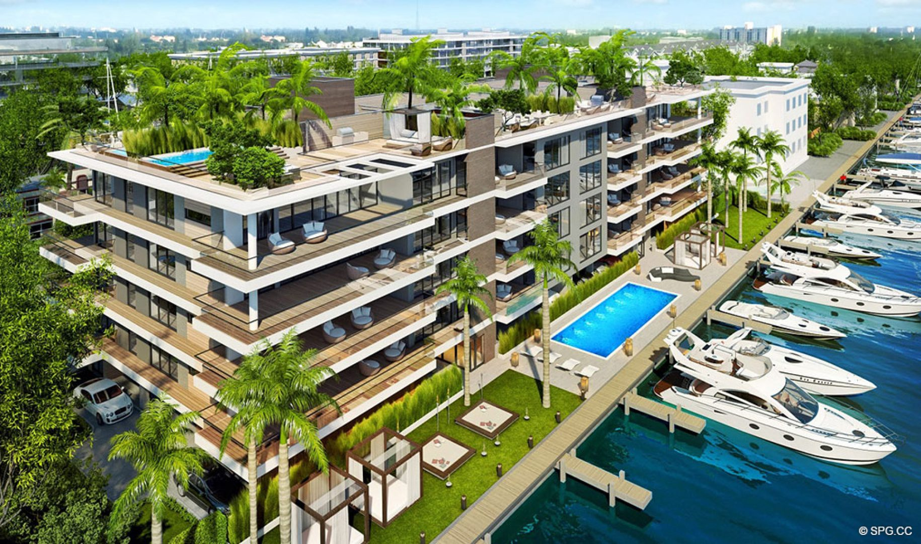 AquaLuna Las Olas, Luxury Waterfront Condos in Fort Lauderdale, Florida 33301