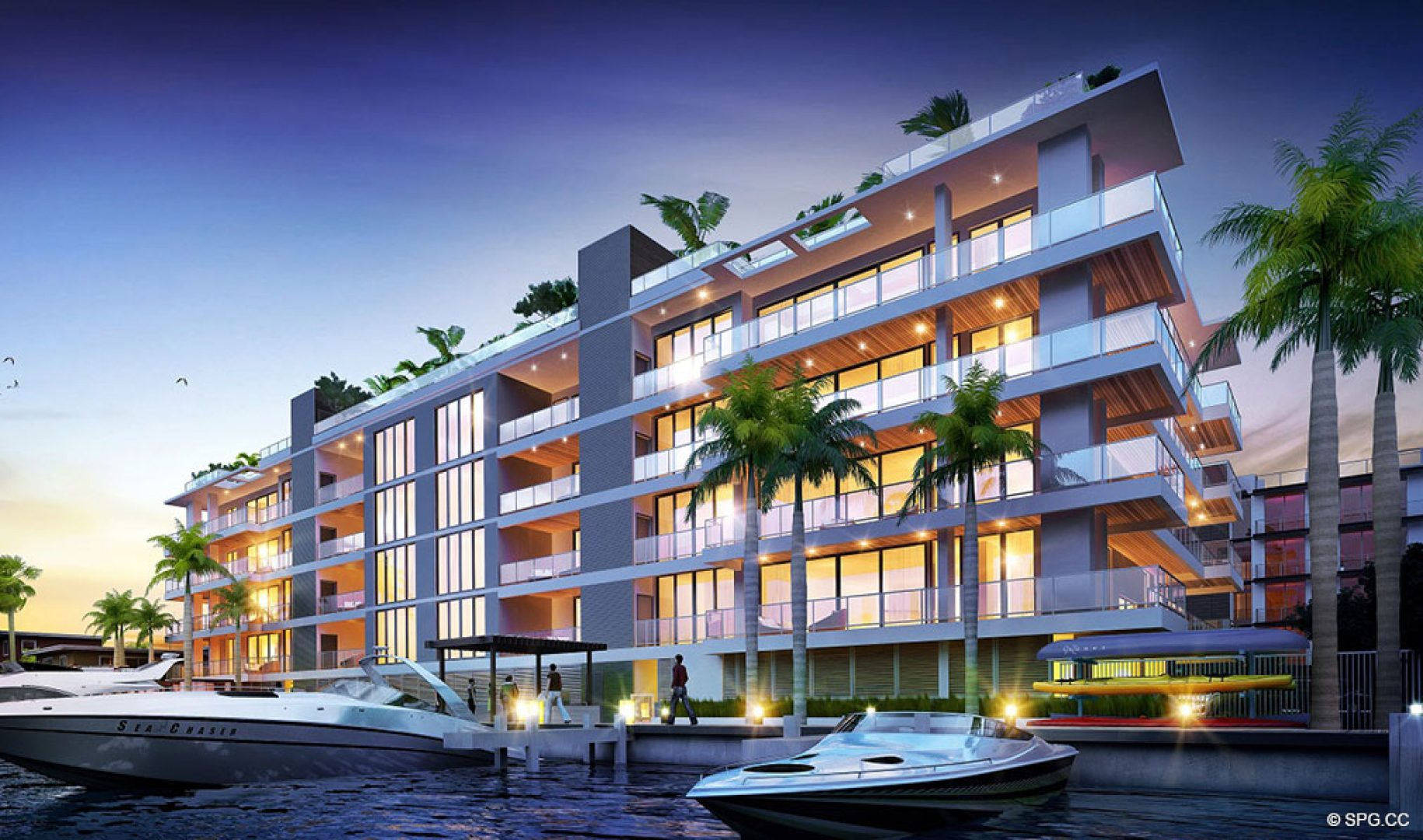 Aqualuna Las Olas Luxury Waterfront Condos In Fort