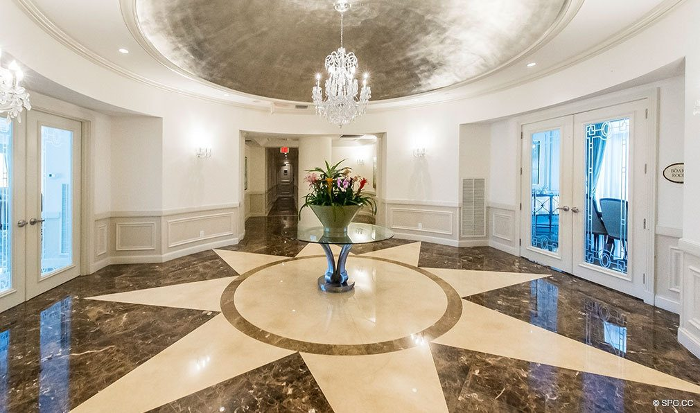 Luxurious Common Areas at The Palms, Luxury Oceanfront Condos in Fort Lauderdale 33305
