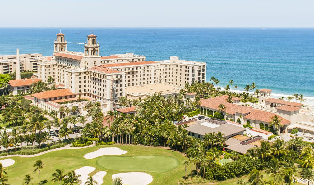 The Famed Breakers Row Luxury Oceanfront Condos In Palm Beach 33480