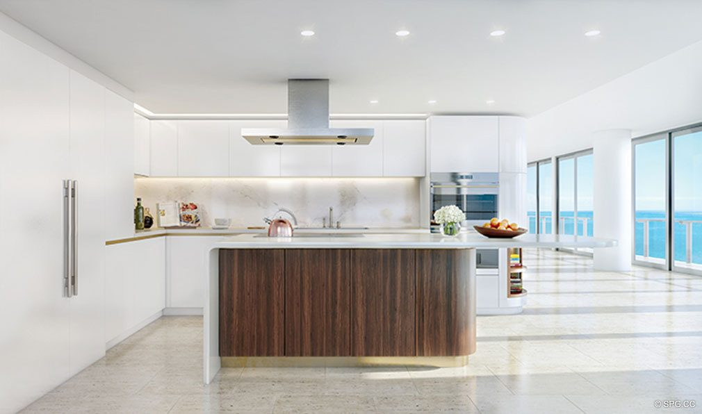 ... Kitchen Design At The Four Seasons Private Residences Fort Lauderdale,  Luxury Oceanfront Condos In Fort ...
