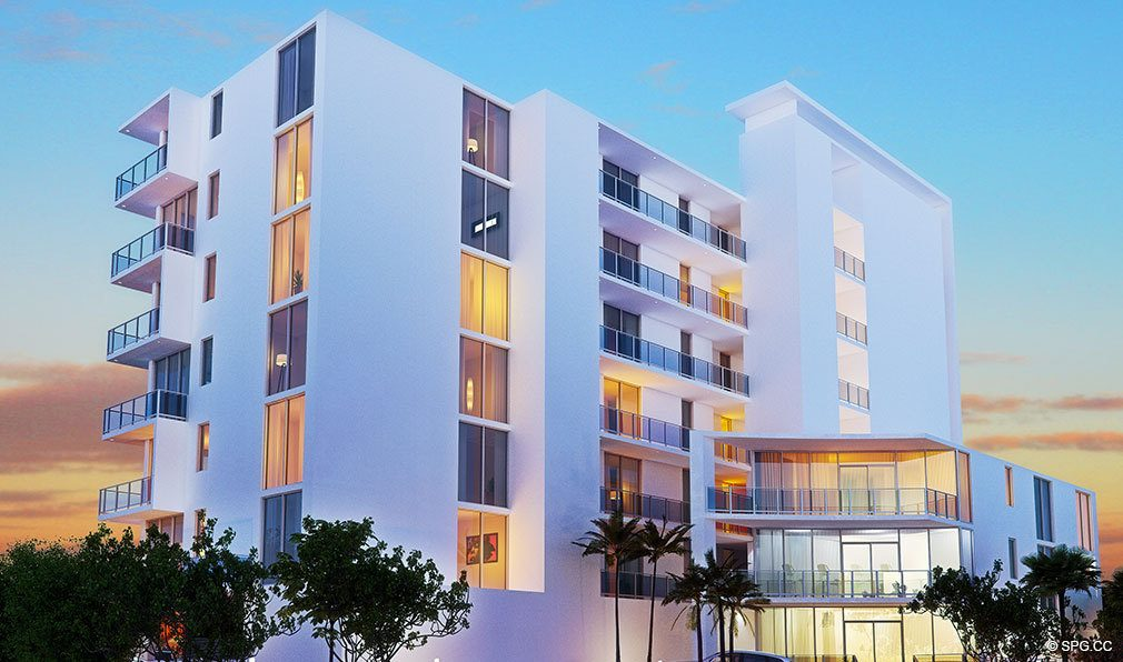 Street View of Aura Pompano Beach, Luxury Seaside Condos in Pompano Beach, FL 33062