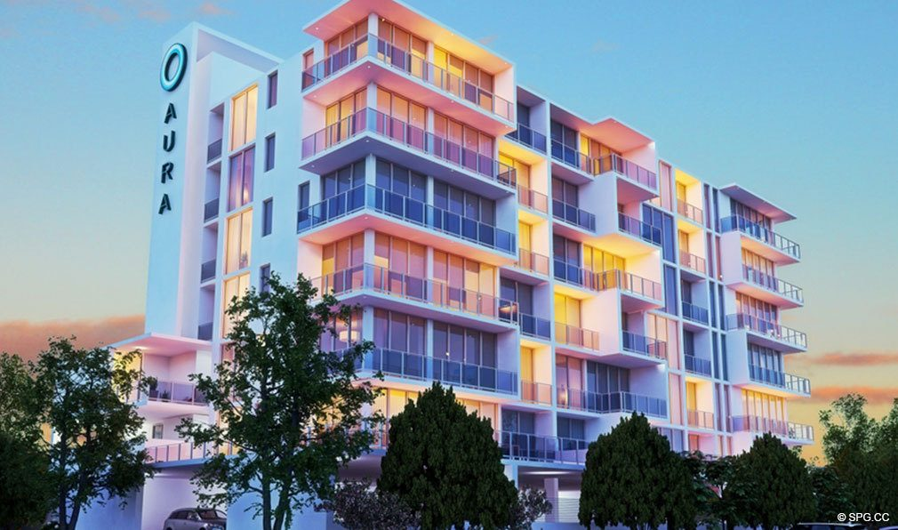 Sunsets at Aura Pompano Beach, Luxury Seaside Condos in Pompano Beach, FL 33062