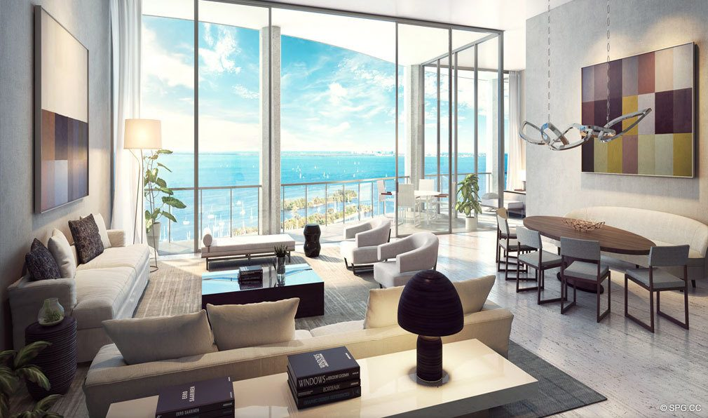Residences at Park Grove, Luxury Waterfront Condos in Miami, Florida 33133
