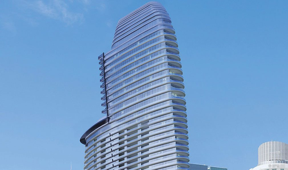 The Top of Aston Martin Residences, Luxury Waterfront Condos in Miami, Florida 33131