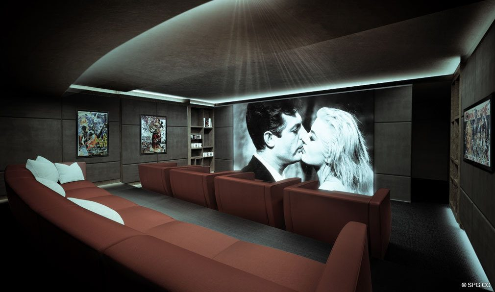 Movie Theater in Brickell Flatiron, Luxury Condos in Miami, Florida 33130