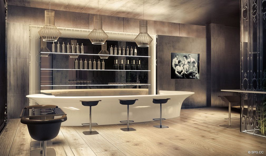 The Wine Bar at Brickell Flatiron, Luxury Condos in Miami, Florida 33130