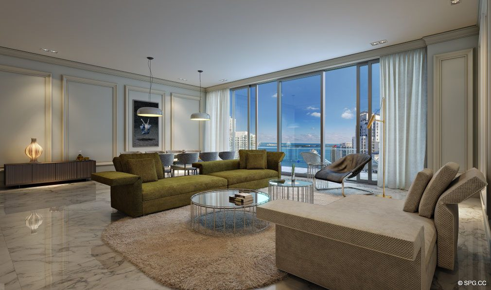 Furniture Ready Residences at Brickell Flatiron, Luxury Condos in Miami, Florida 33130