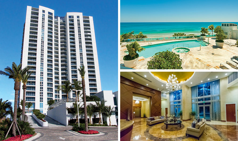 Aquazul, Luxury Oceanfront Condominiums Located at 1600 South Ocean Blvd, Lauderdale-by-the-Sea, Florida 33062