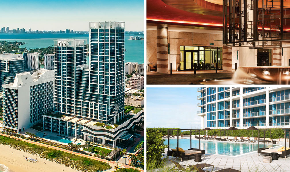 Canyon Ranch Living, Luxury Oceanfront Condominiums Located at 6799-6899 Collins Avenue, Miami Beach, Florida 33141