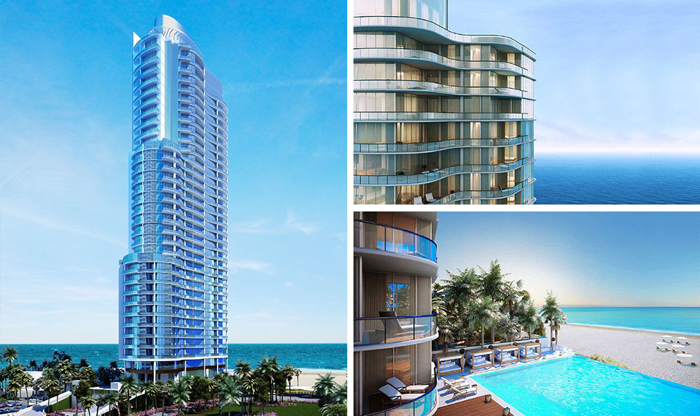 Chateau Beach Residences, Luxury Oceanfront Condominiums Located at 17475 Collins Avenue, Sunny Isles Beach, Florida 33160