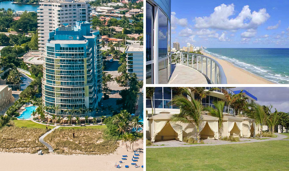 Coconut Grove Residences, Luxury Oceanfront Condominiums Located at Located at 1200 Holiday Drive, Fort Lauderdale, Florida 33316
