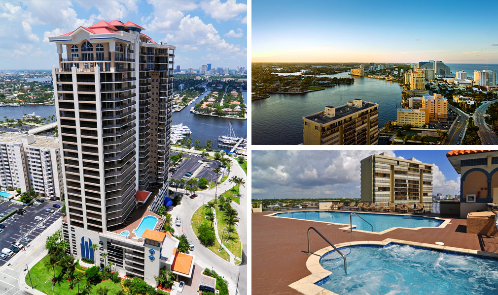 Jackson Tower, Luxury Waterfront Condominiums Located at 100 South Birch Road, Fort Lauderdale, Florida 33316