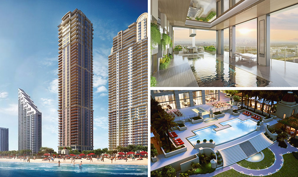 Mansions at Acqualina, Luxury Oceanfront Condominiums Located at 17749 Collins Avenue, Sunny Isles Beach, Florida 33160