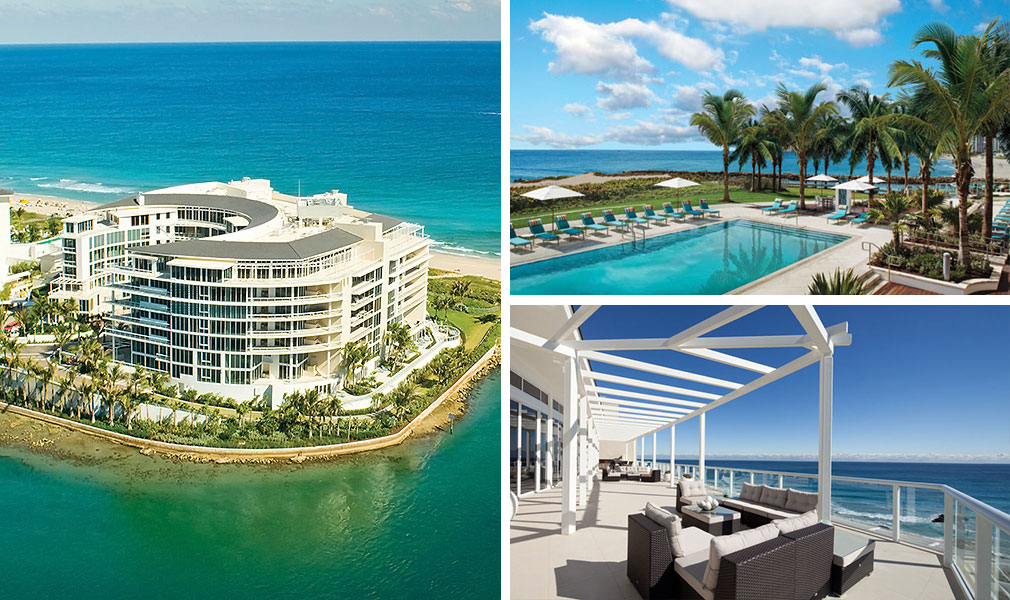 One Thousand Ocean, Luxury Oceanfront Condominiums Located at 1000 South Ocean Boulevard, Boca Raton, Florida 33432