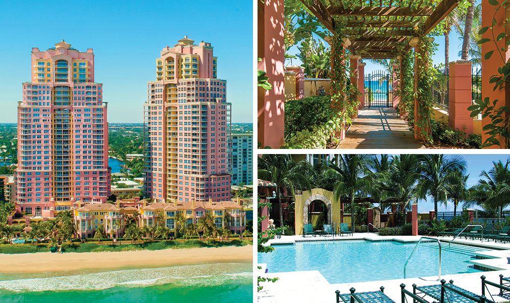 The Palms, Oceanfront Villas, Luxury Condominiums Located at 2120-2180 North Ocean Boulevard, Fort Lauderdale, Florida 33305