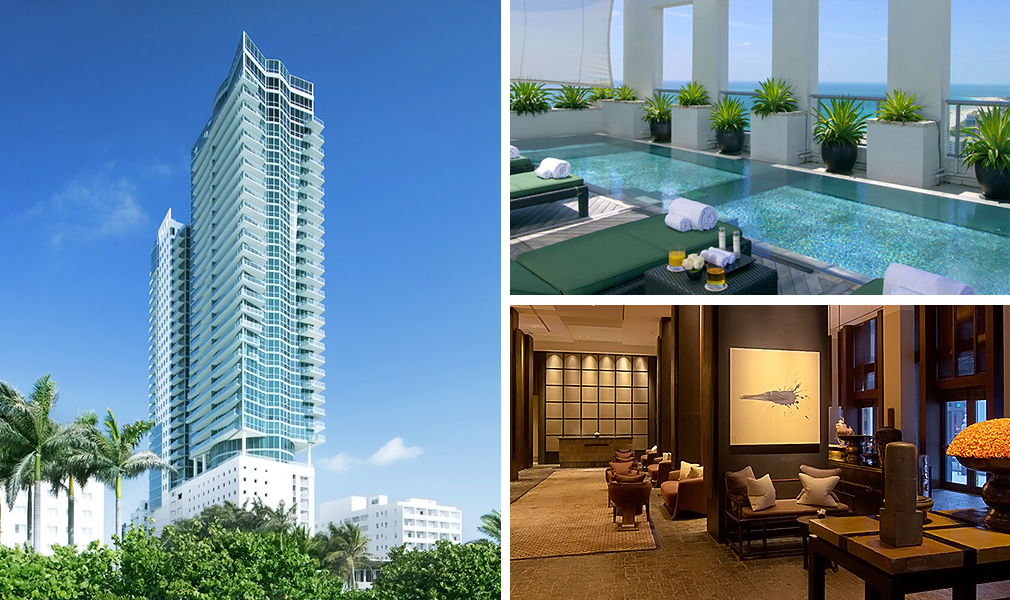 The Setai, Luxury Oceanfront Condominiums Located at 101 20th Street, Miami Beach, Florida 33139