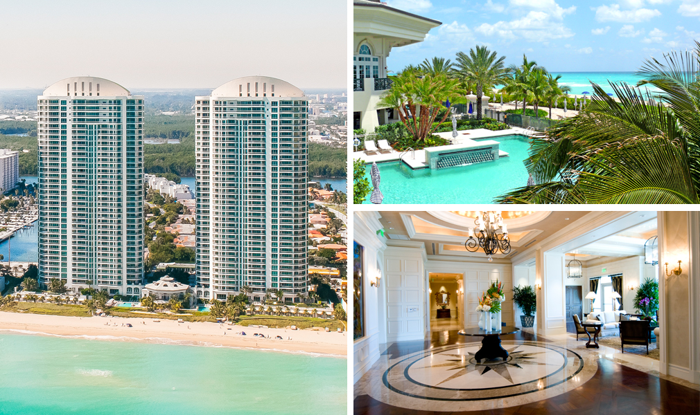 Turnberry Ocean Colony, Luxury Oceanfront Condominiums Located at 16047-16051 Collins Avenue, Sunny Isles Beach, Florida 33160