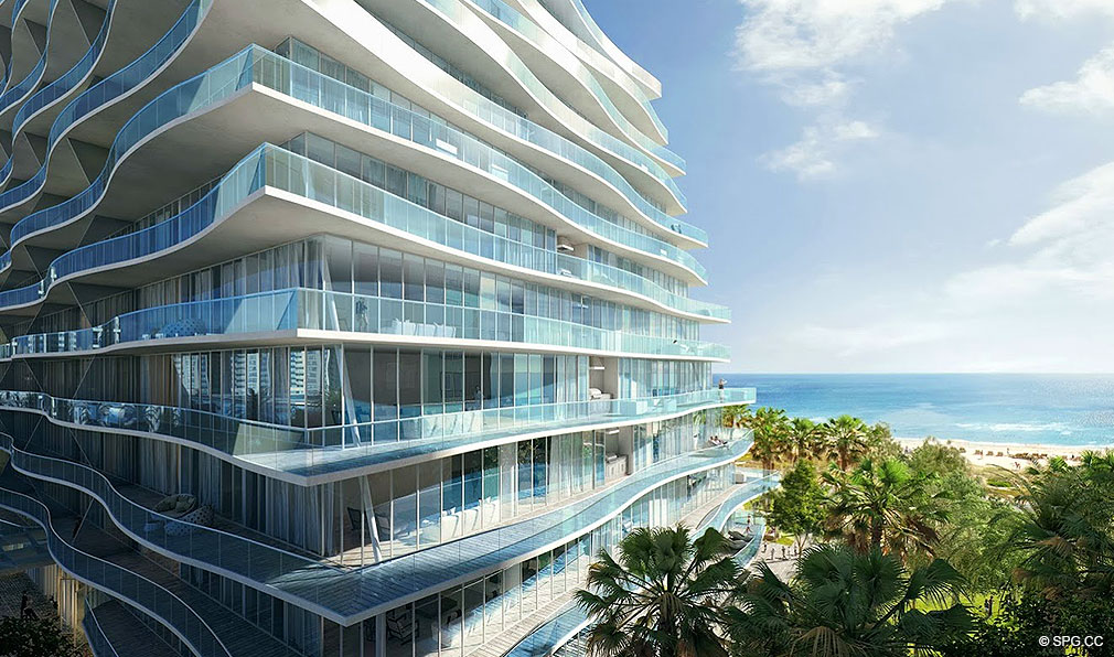 FENDI Chateau Residences, JUST COMPLETED condos in Surfside, Miami