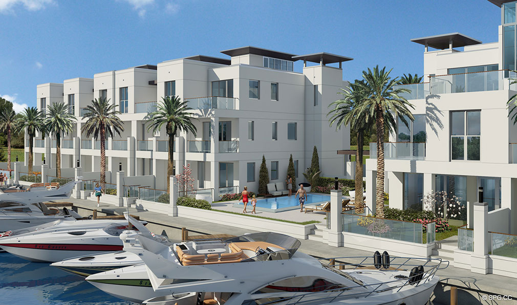 Sky230 Luxury Waterfront Townhomes In Lauderdale By The Sea