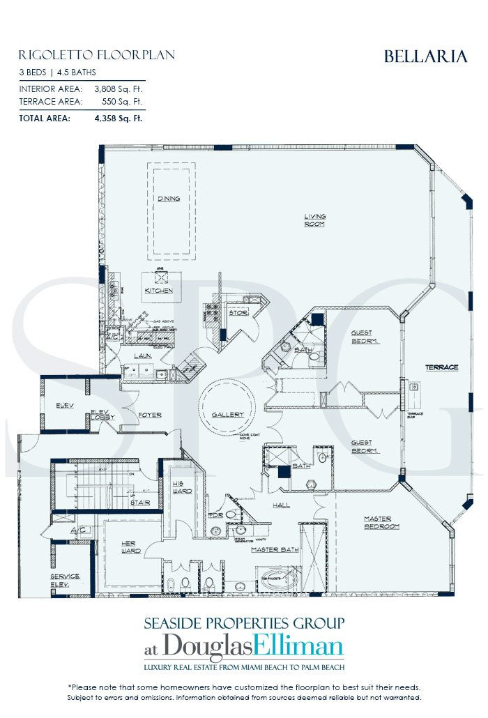 Residence 504 At Bellaria Luxury Oceanfront Condos Palm
