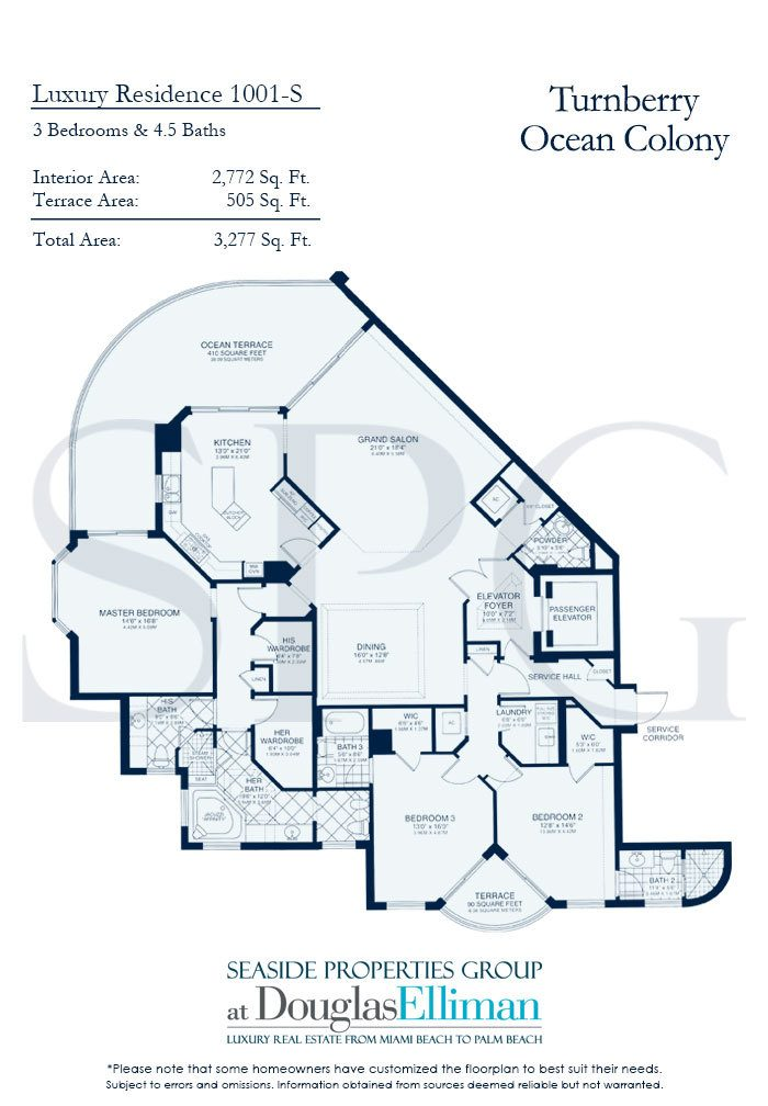 Residence 1001 At Turnberry Ocean Colony Luxury