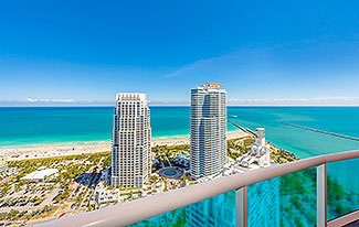 Thumbnail Image for Residence 3806 at Portofino Tower, Luxury Waterfront Condominiums in Miami Beach, Florida 33139