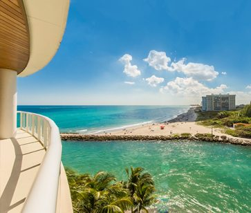 Thumbnail Image for Residence 501 For Sale at 1000 Ocean, Luxury Oceanfront Condos in Boca Raton, Florida 33432.