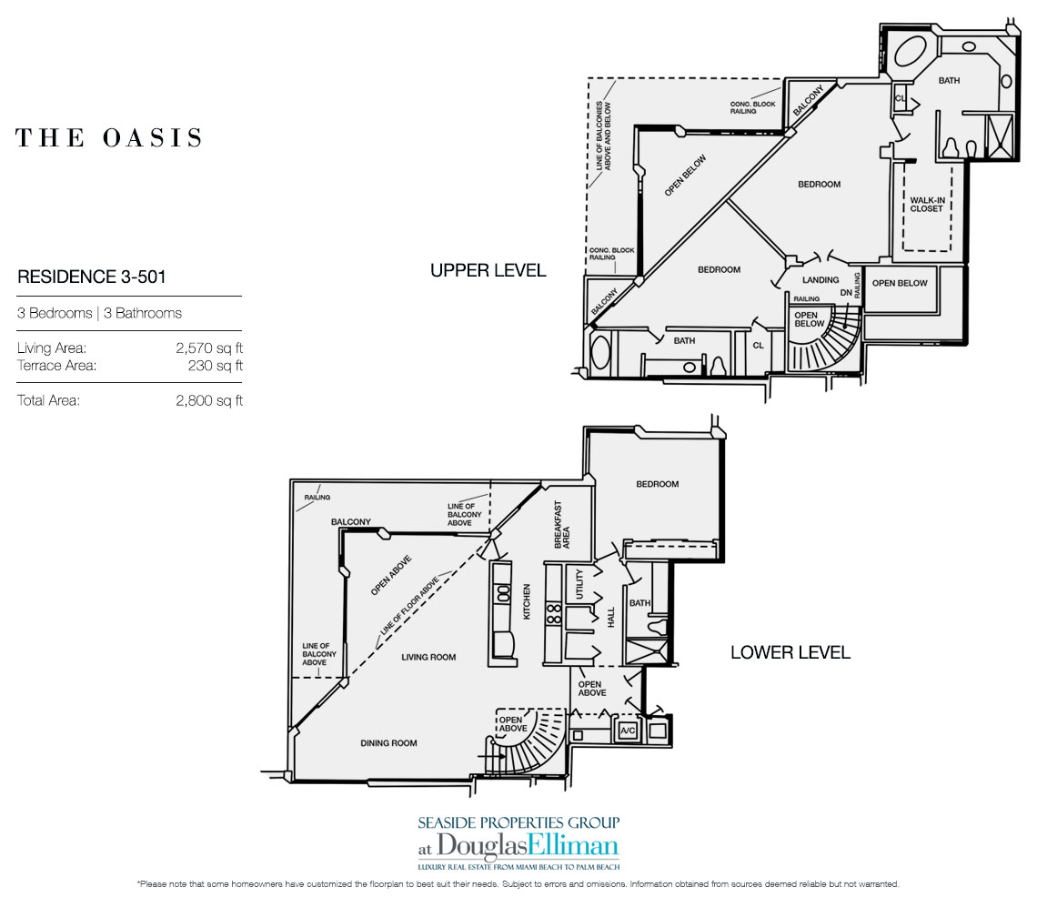 Sale at Oasis Luxury Oceanfront Condos in Palm Beach Florida 33480 #2194AA