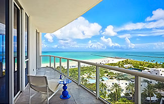 Thumbnail Image for Residence 1402/3 at The Continuum, Luxury Oceanfront Condominiums in Miami Beach, Florida 33139.