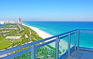 Luxury Oceanfront Residence 2204 at  One Bal Harbour Condominium