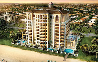 Luxury Oceanfront Residence 601 at  Luxuria Condominiums, 2500 South Ocean Boulevard, Boca Raton, Florida 33432, Luxury Waterfront Condos