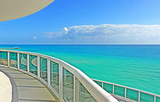 Luxury Oceanfront Residence 701, Trump Towers Condominiums,  16001 Collins Avenue, Sunny Isles Beach, Florida 33160, Luxury Seaside Condos