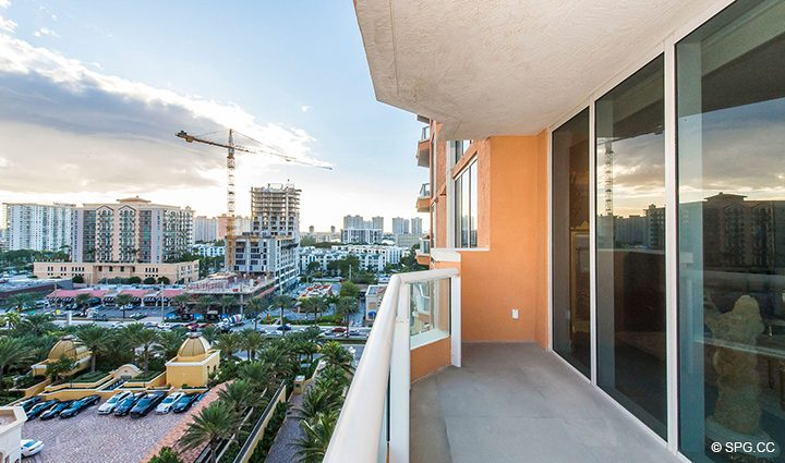 Beautiful Views of Miami from Residence 1106 at Acqualina, Luxury Oceanfront Condominiums in Sunny Isles Beach, Florida 33160