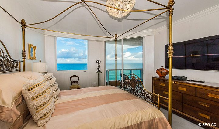 Master Suite Terrace Access in Residence 1106 at Acqualina, Luxury Oceanfront Condominiums in Sunny Isles Beach, Florida 33160