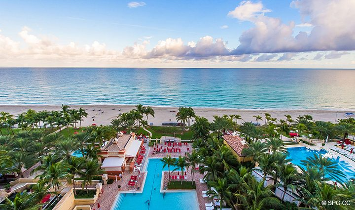 View from Residence 1106 at Acqualina, Luxury Oceanfront Condominiums in Sunny Isles Beach, Florida 33160