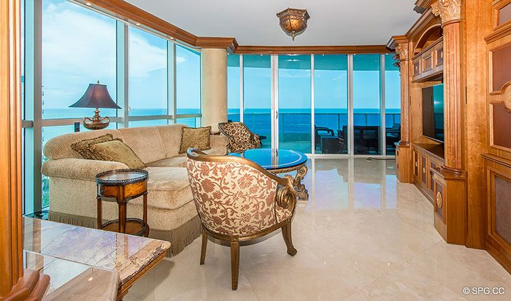 Tastefully Furnished Residence 1204 For Sale at Aquazul, Luxury Oceanfront Condominiums Lauderdale by the Sea, Florida 33062