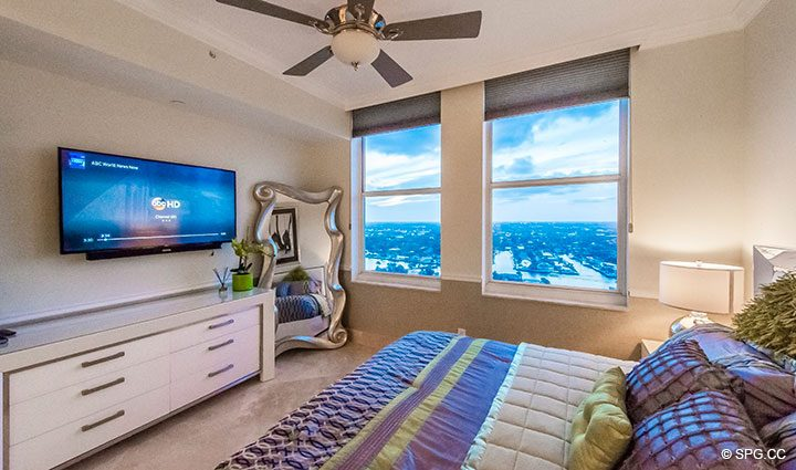 Guest Suite in Penthouse Residence 26A, Tower I at The Palms, Luxury Oceanfront Condos in Fort Lauderdale, Florida 33305.
