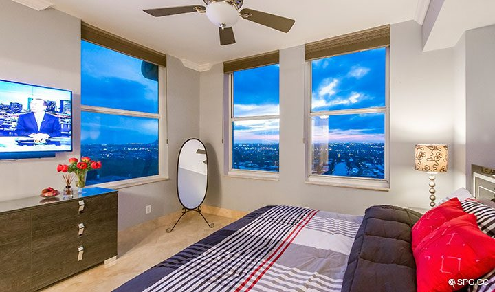 Guest Quarters in Penthouse Residence 26A, Tower I at The Palms, Luxury Oceanfront Condos in Fort Lauderdale, Florida 33305.
