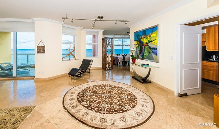 Residence 12d Tower I For Sale At The Palms Luxury Oceanfront Condominiums Fort Lauderdale