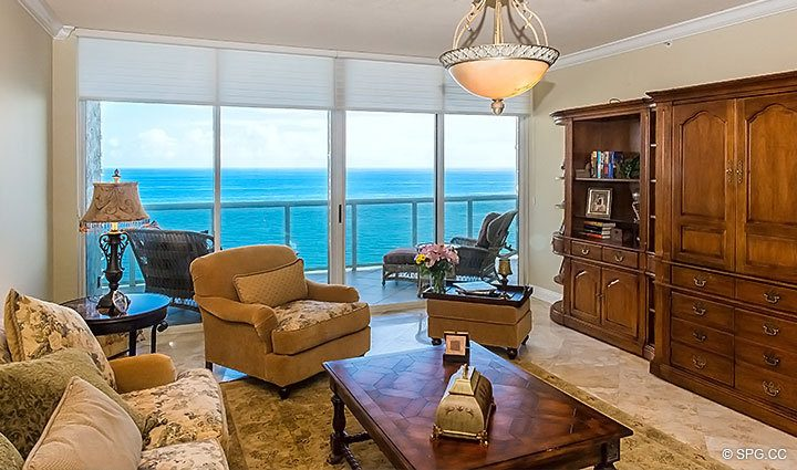 living room ft lauderdale residence 1902 for at l hermitage luxury oceanfront 15332