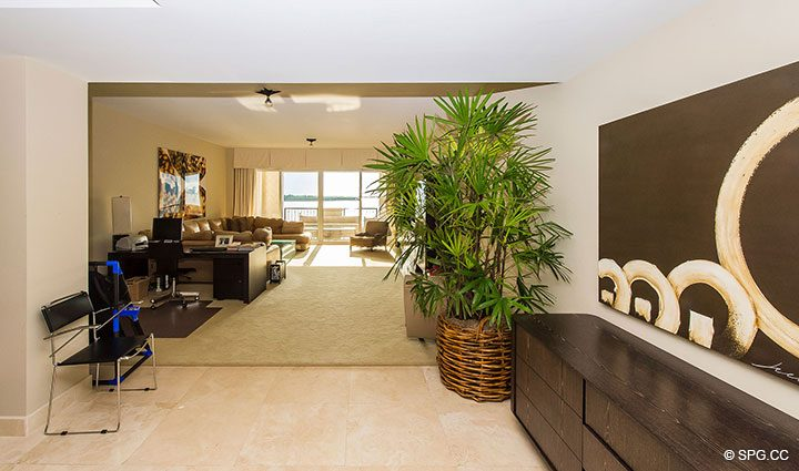 Fantastic Flow-Though Floorplan in Luxury Oceanfront Condo Residence 5152 Fisher Island Drive, Miami Beach, FL 33109