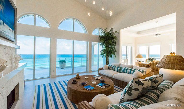 Penthouse 7 Für Verkauf In Bellaria, Luxury Oceanfront ... 18 Designs Wohnzimmer Mit Gewolbe Decke